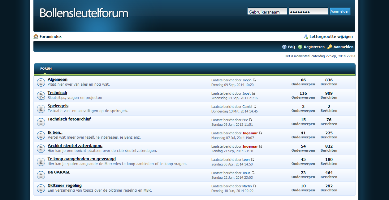 ONS FORUM